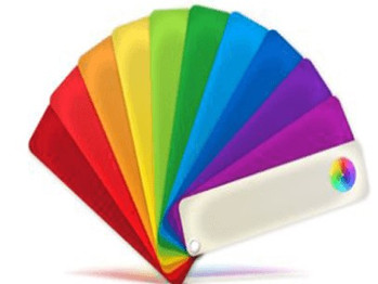 La scelta dei colori