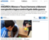 Bambini rifugiati, giochi, aiuti umanitari