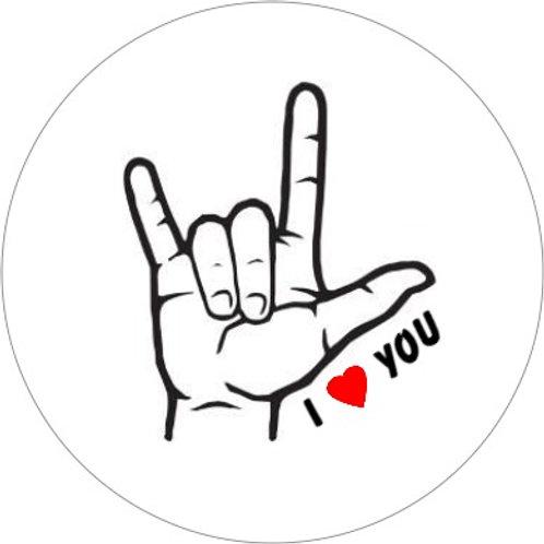 I Love You handgebaar