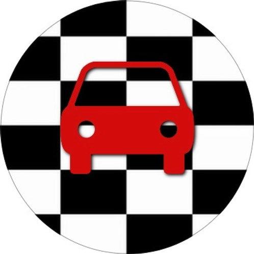 Finish vlag-auto