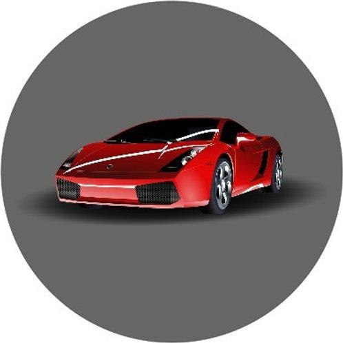Ferrari-rood