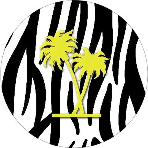 Zebra-palm
