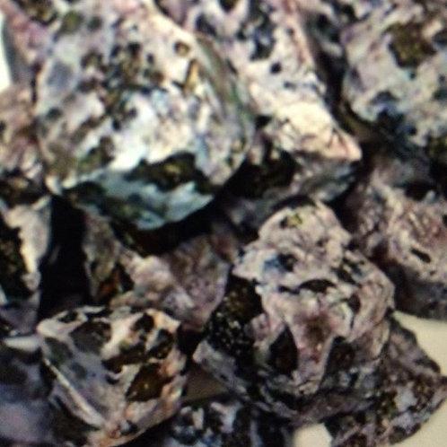 Rough Indigo Gabbro Crystal