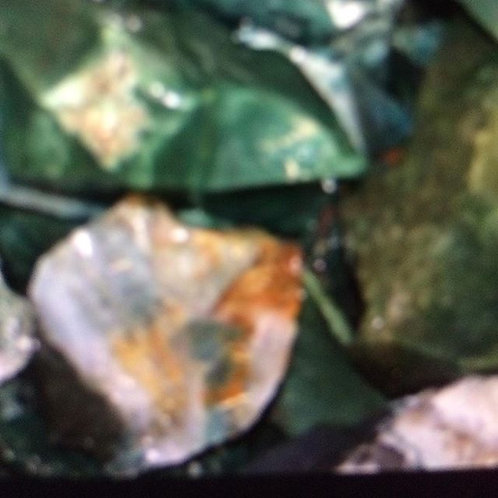 Rough Green Jasper Crystal