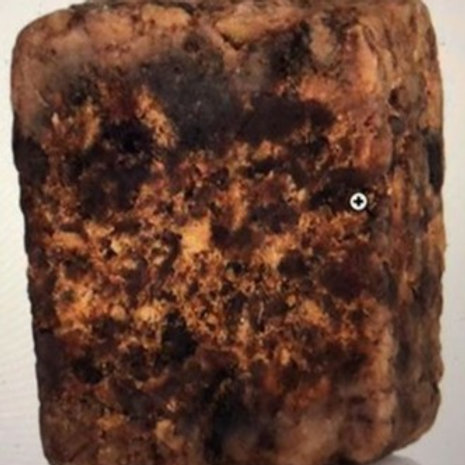 Wholesale 100% Raw African Black Soap 5 lbs.
