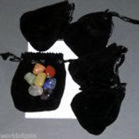 Crystal Chakra Pocket or Purse Set