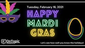 The Mardi Gras Quiz