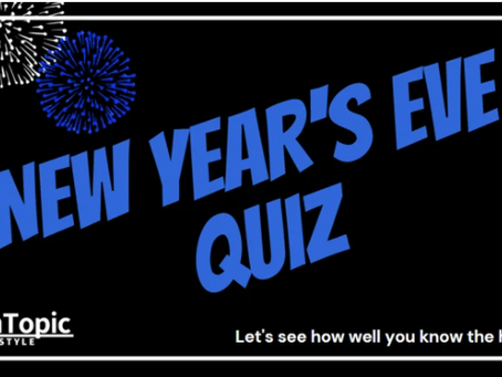 The New Year's Eve Quiz