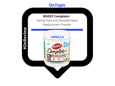 The Complete Take on Boost and its Vanilla Meal Replacement Powder