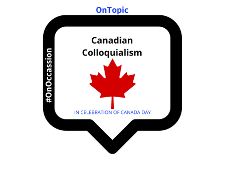 Canadian Colloquialism