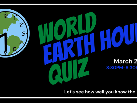 The World Earth Hour Quiz