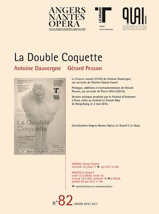 Programme de salle de Little Nemo pour Angers Nantes Opéra
