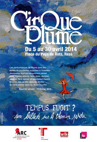 Programme de salle du Cirque Plume