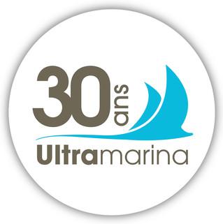 Logo 30 ans agence Ultramarina