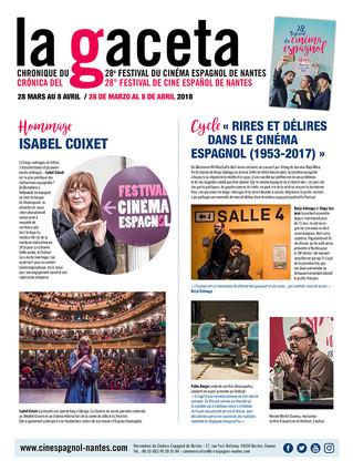 La Gaceta 2018, retour en images sur le 28e Festival du cinéma espagnol de Nantes