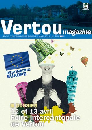 Vertou magazine aux couleurs européennes