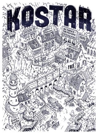 Kostar 77 habillé par Dupin & Duclos