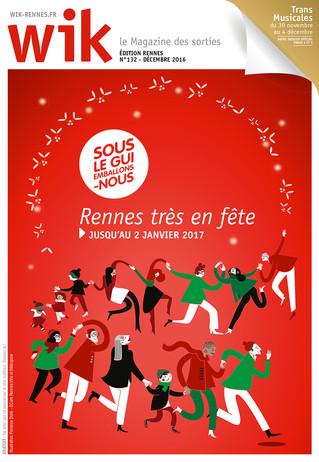 Wik Rennes n° 132 - décembre 2016