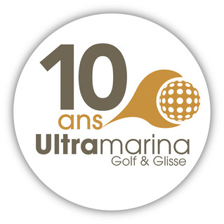 Logo 10 ans Golf and Glisse
