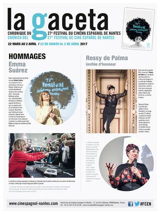 La Gaceta 2017, retour en images sur le 27e Festival du cinéma espagnol de Nantes