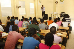 student lecture