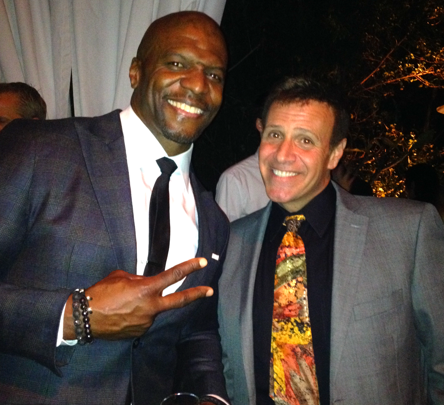 Stephen with Terry Crews