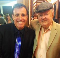 Stephen with Dick Van Patten