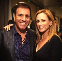 Stephen Sorrentino & Marlee Matlin