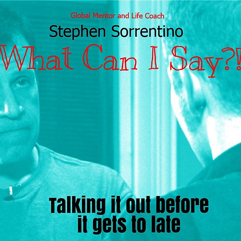 """""""What can I say?!"""" - Stephen Sorrentino (paperback)"""
