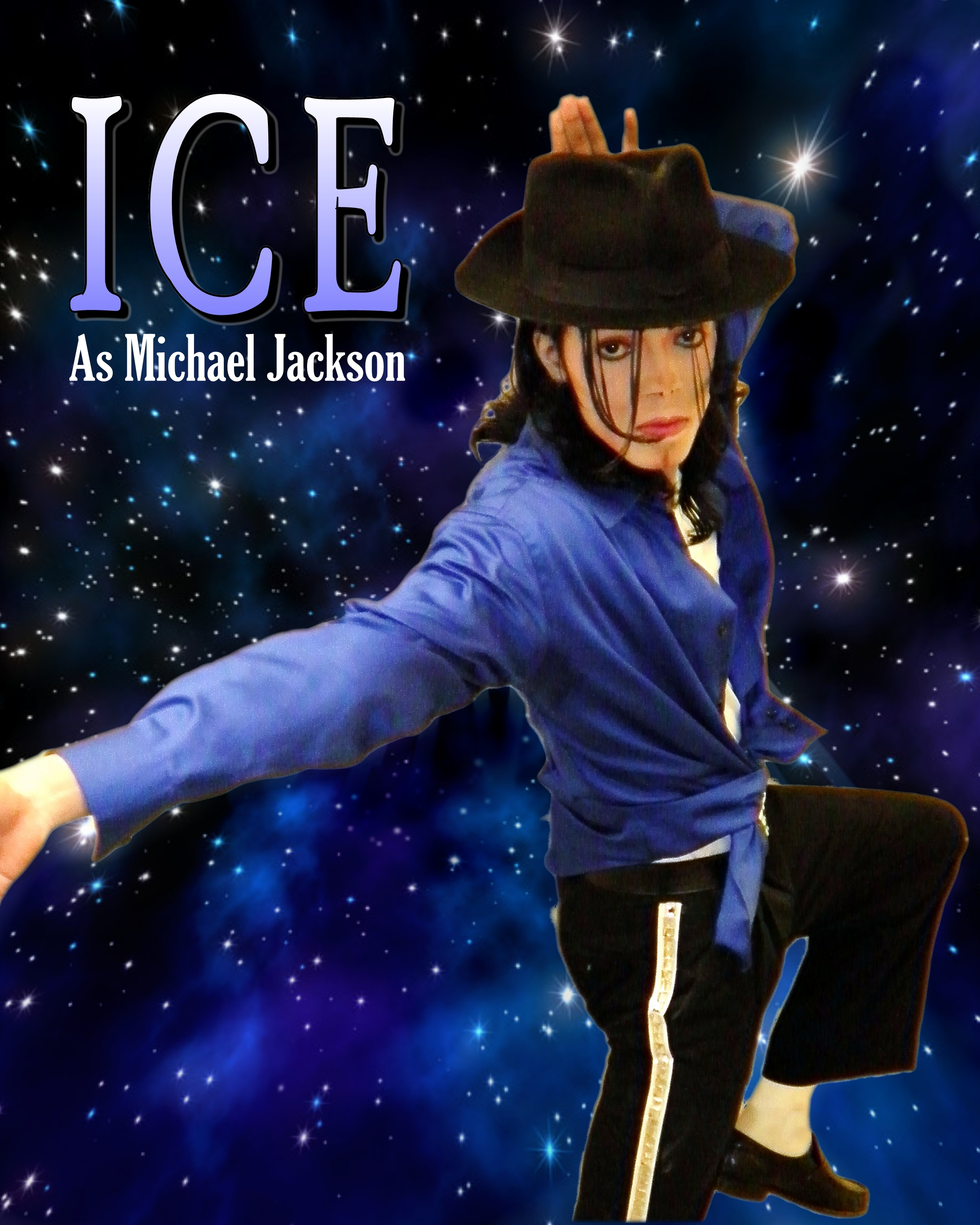 Ice as Michael Jackson
