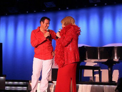 Stephen with Joan Rivers