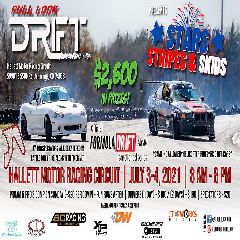 Stars, Stripes, and Skids - Hallett Motor Racing Circuit