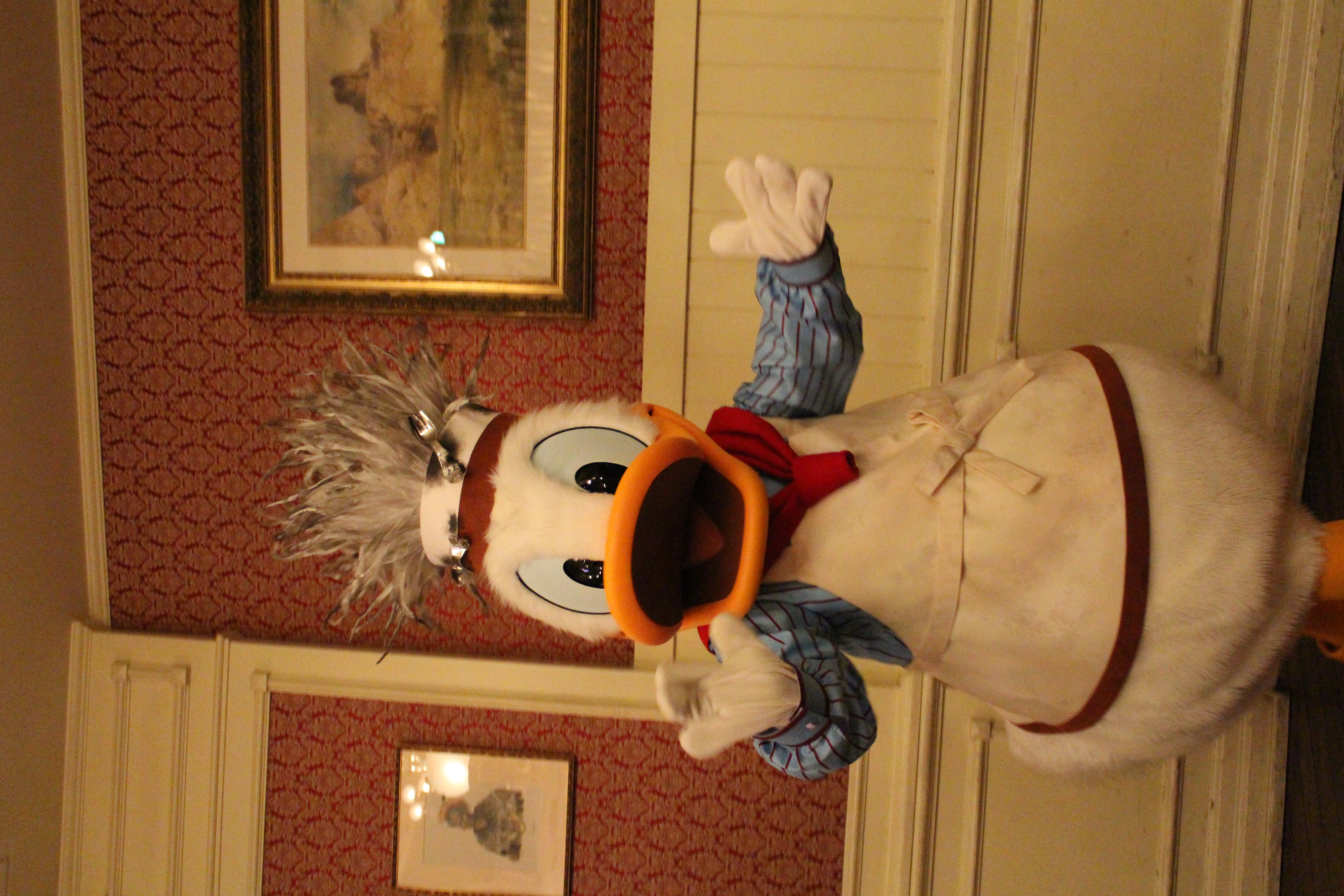 Blown Up Hat Donald