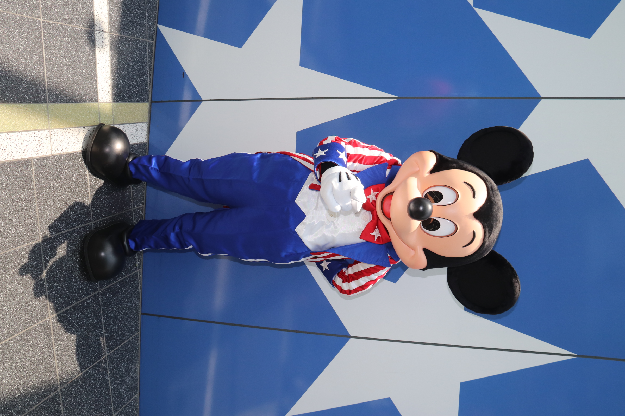 Uncle Sam Mickey