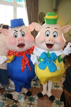 Practical and Fifer Pig
