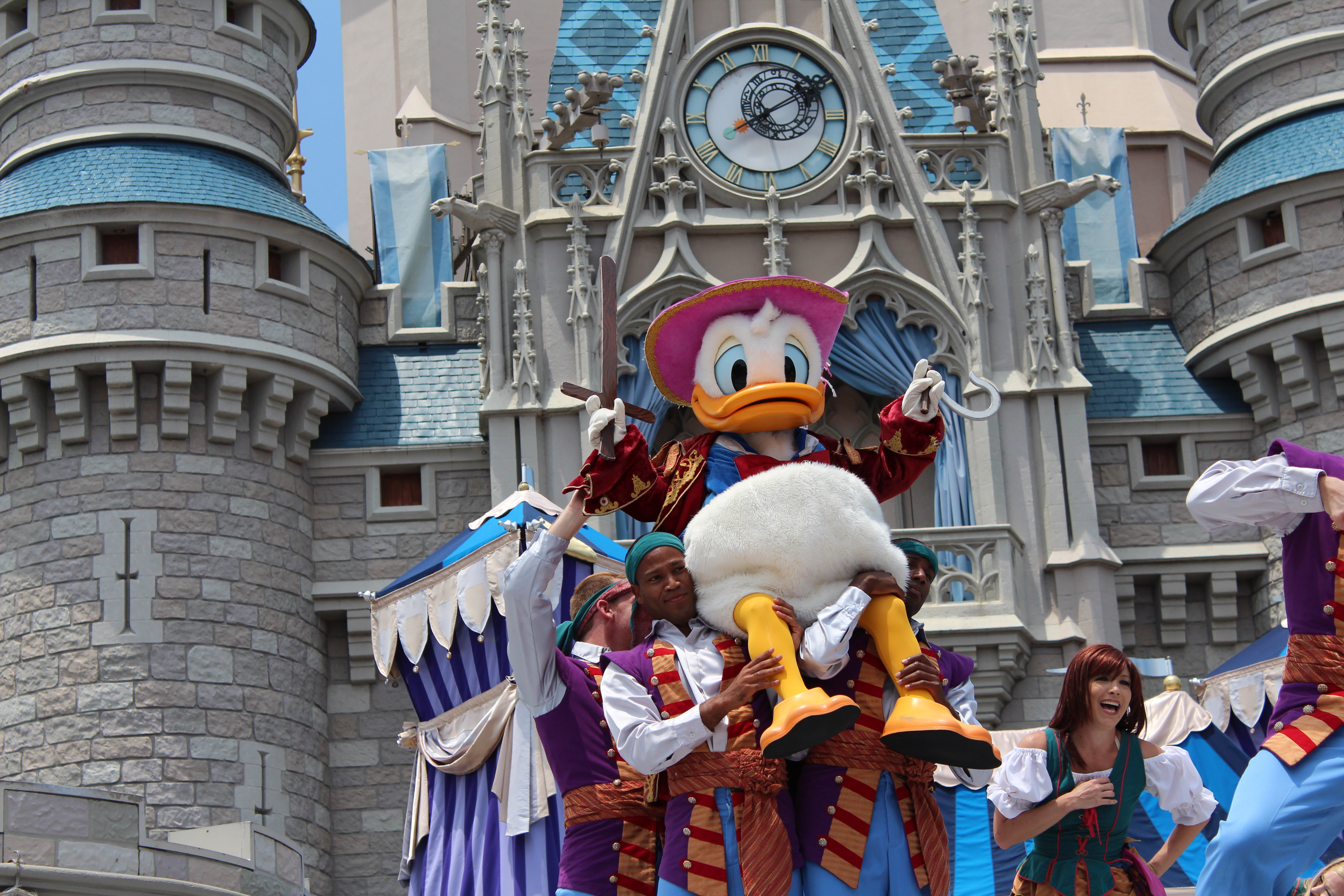 Captain Hook Donald