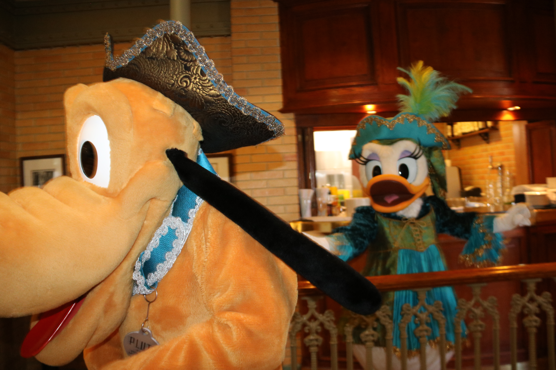 Pluto and Daisy