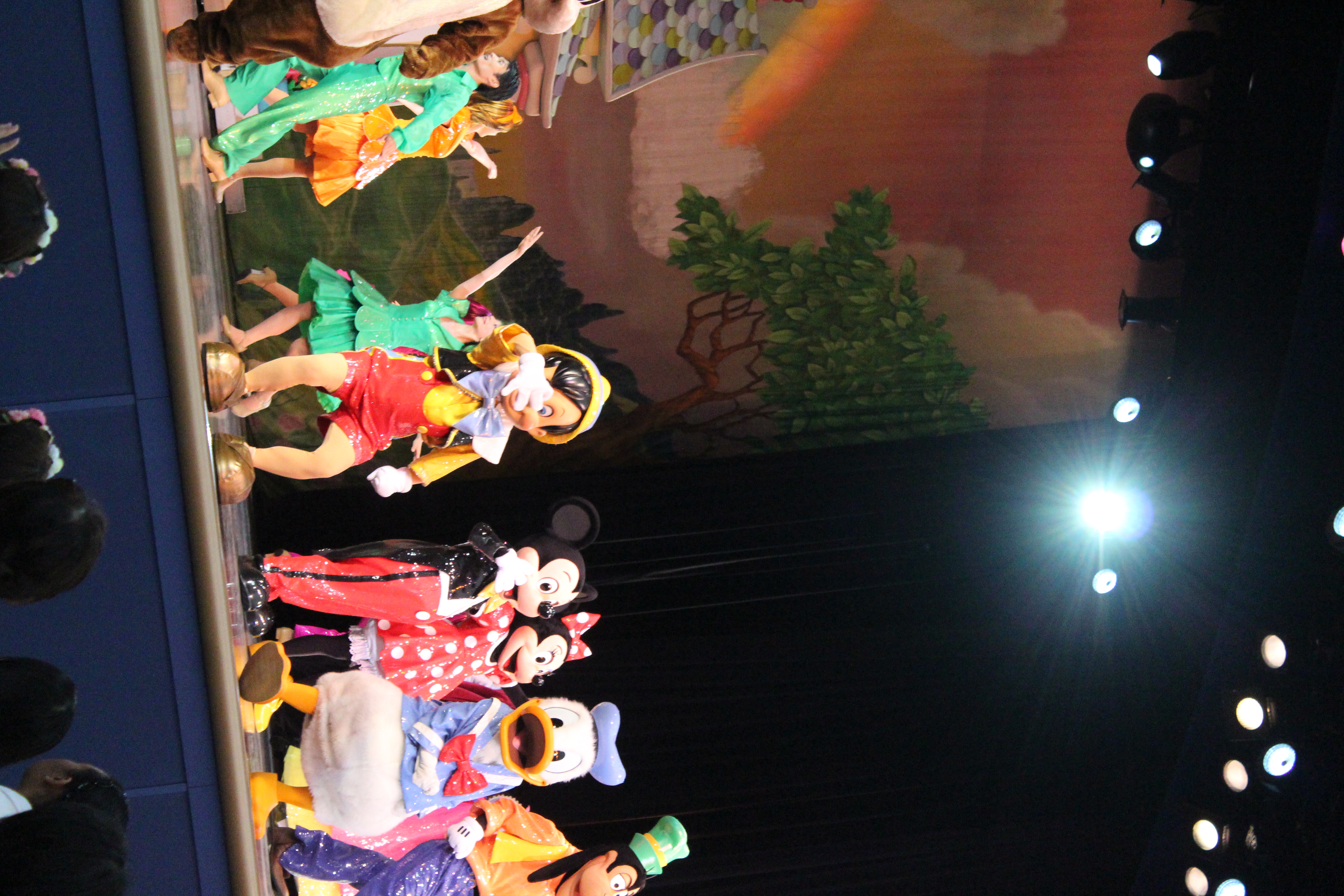 Pinocchio and Donald