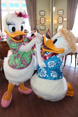 Donald and Daisy