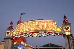 Pixar Pier/Paradise Pier