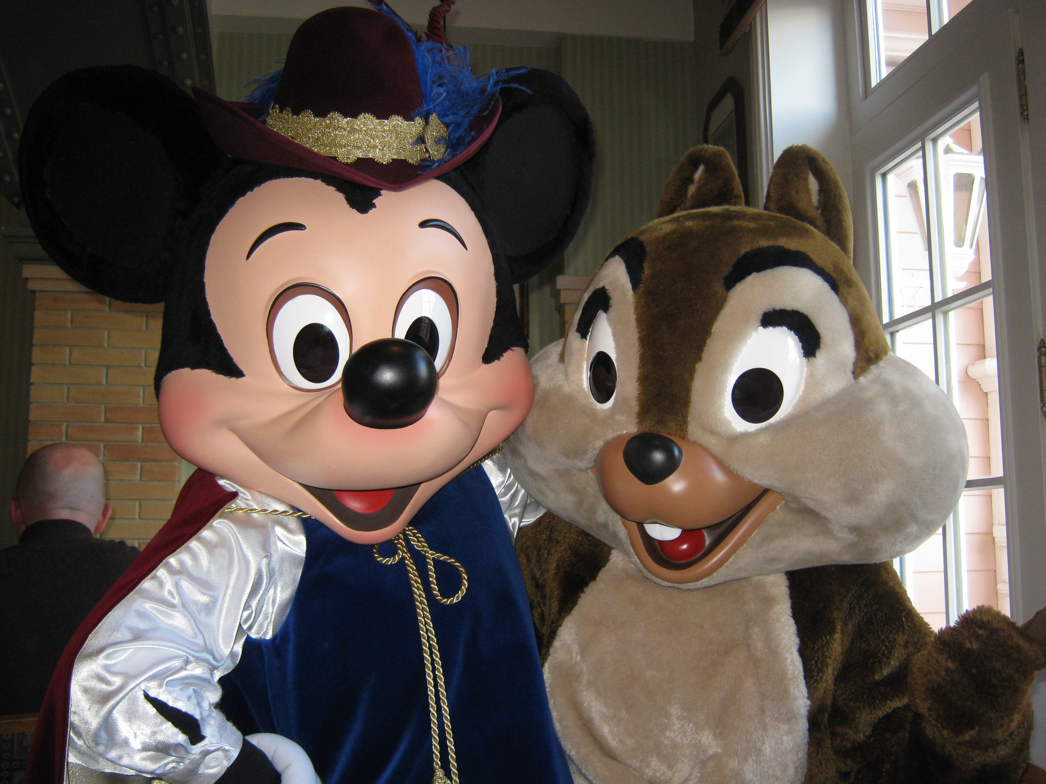 Mickey and Chip