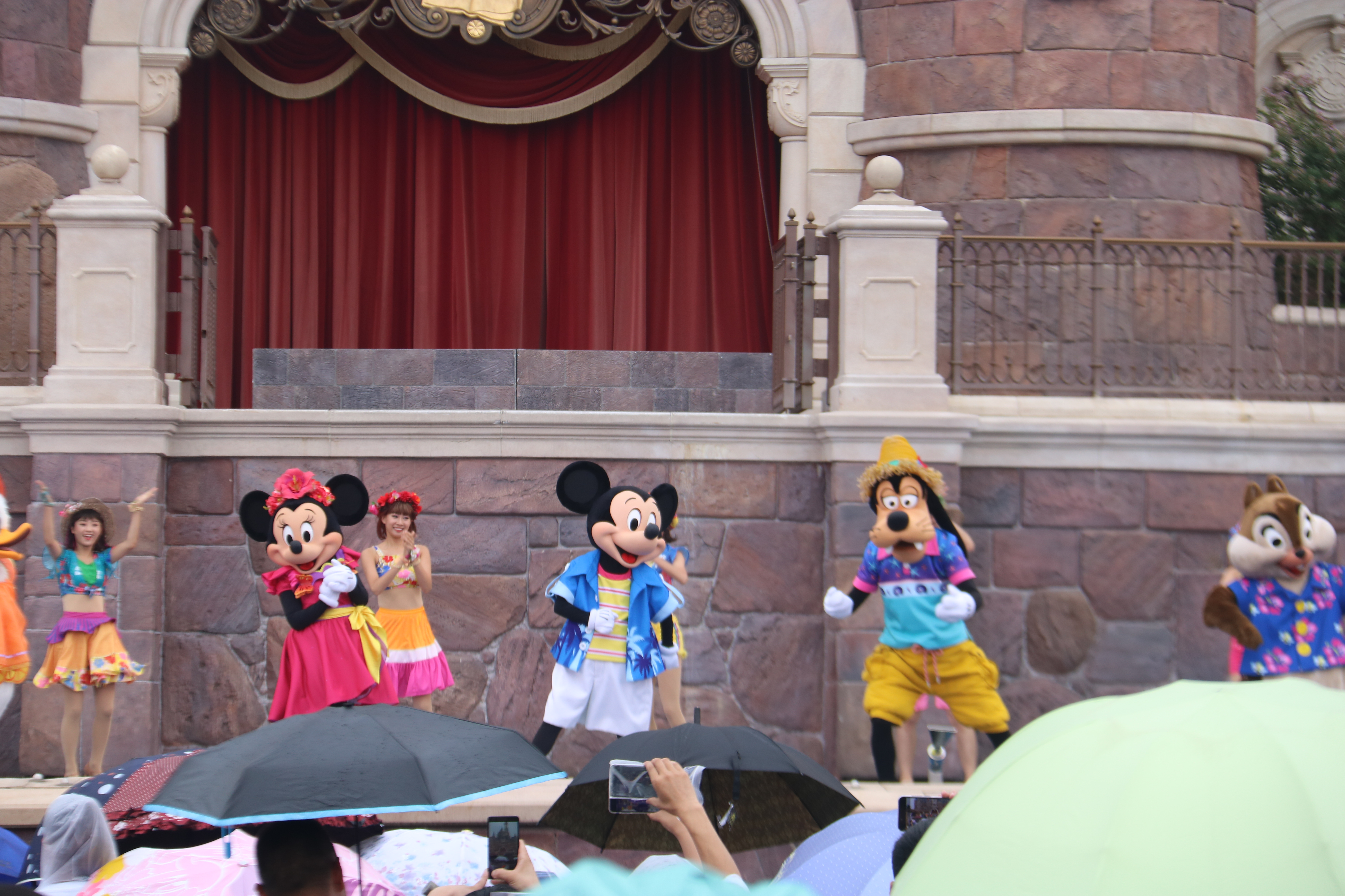 Opening Mickey, Minnie, and Goofy