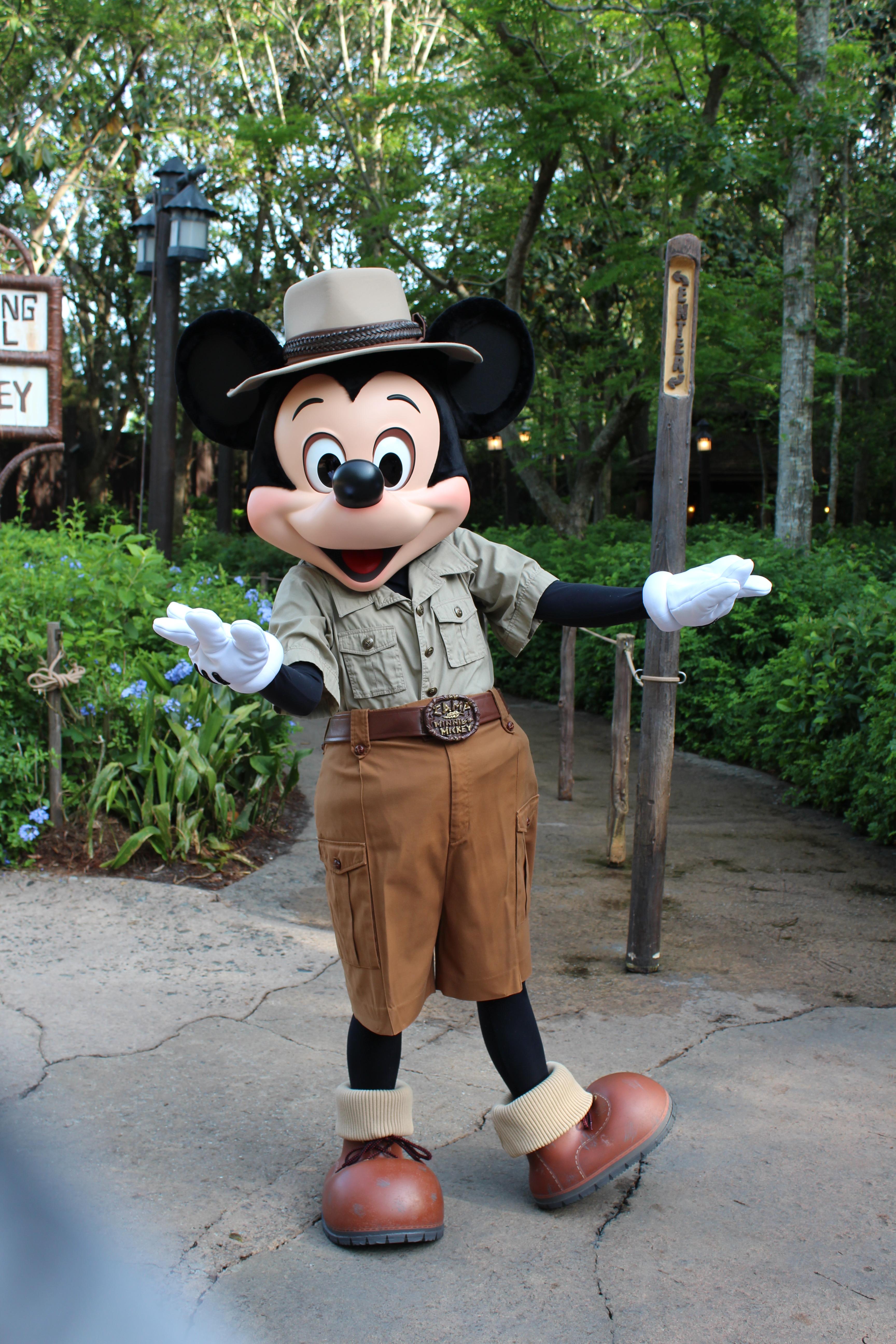 Old Belt Buckle Mickey