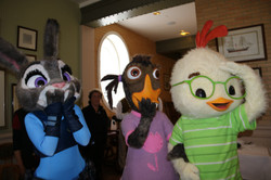 Judy, Abby, and Chicken Little