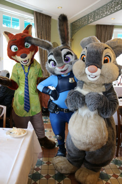 Nick, Judy, and Thumper