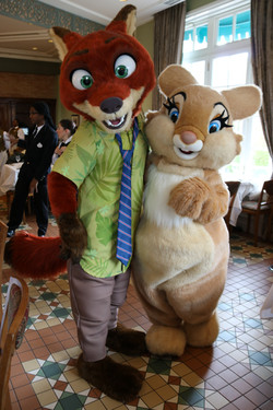 Nick and Miss Bunny