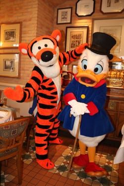 Tigger and Scrooge
