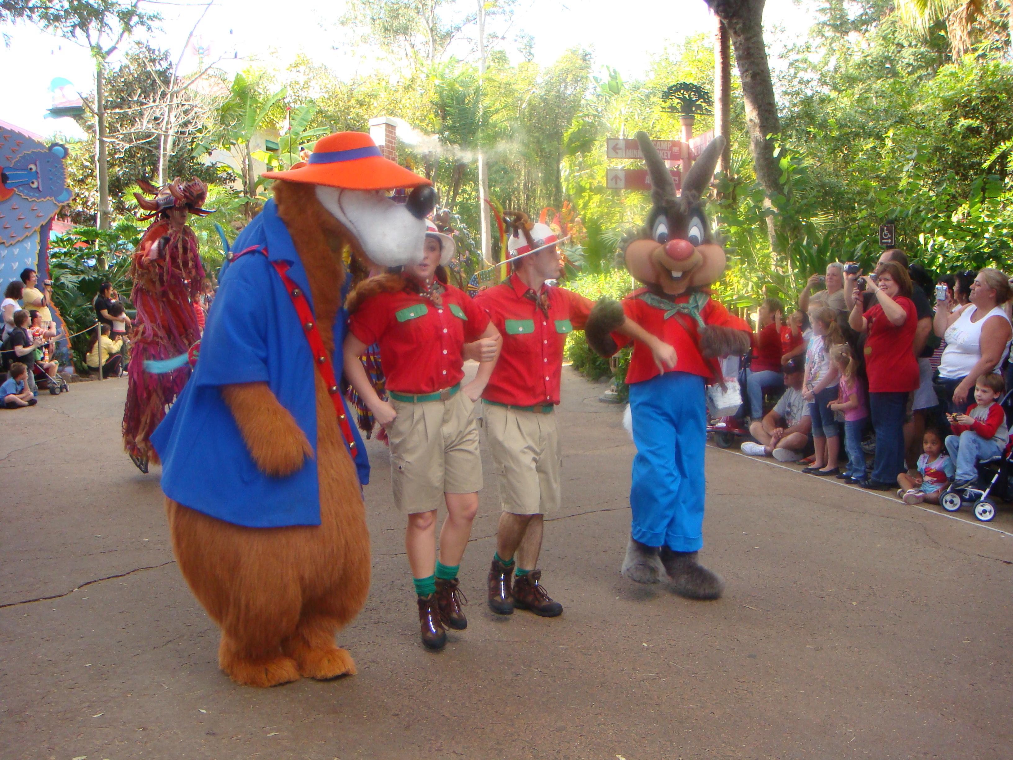 Br'er Rabbit and Br'er Bear