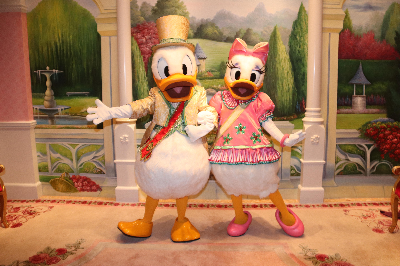 Royal Christmas Ball Donald and Daisy