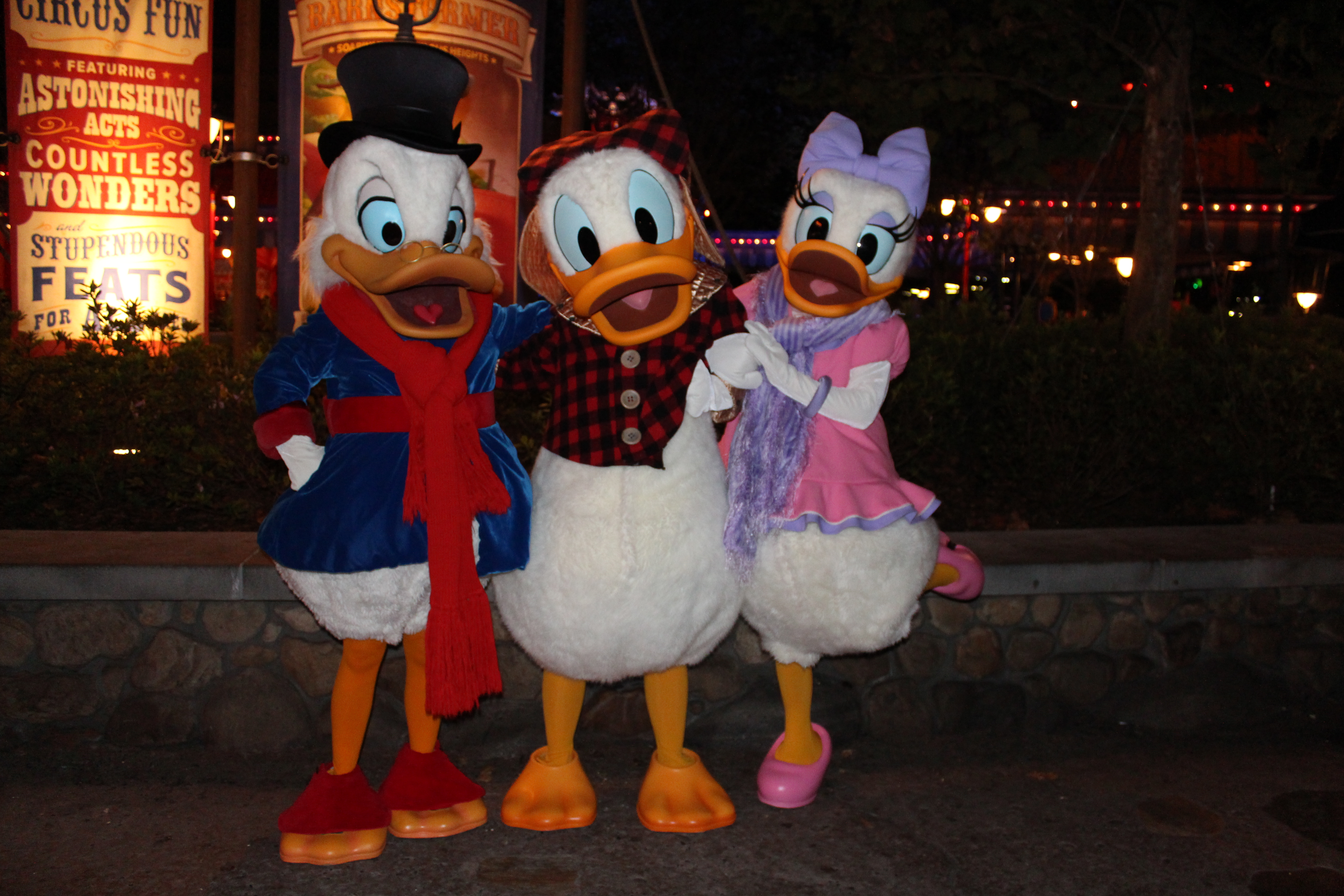 Scrooge, Meet Donald, and Old Meet Daisy